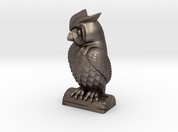 Owl statue  in Stainless Steel