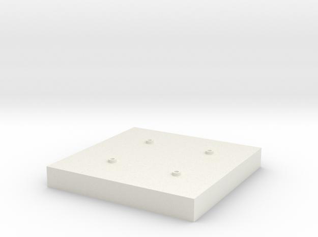 1/64 Grain Leg Base in White Natural Versatile Plastic