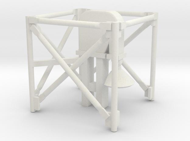1/64 Grain Leg Top Section in White Natural Versatile Plastic