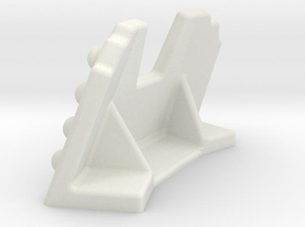Firing Position in White Natural Versatile Plastic