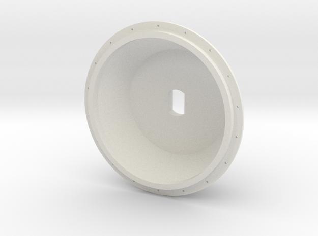 1/16 E-100 Drive Wheel Part 2 in White Strong & Flexible