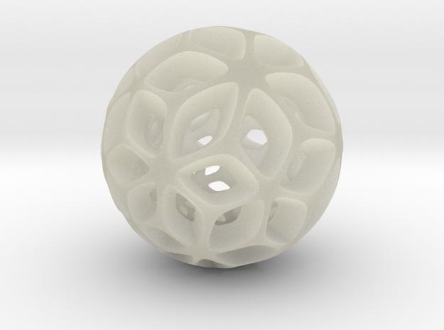 Flora - Pendant / Keychain 3d printed