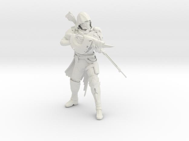 Gunslinger For Tdloganj in White Strong & Flexible