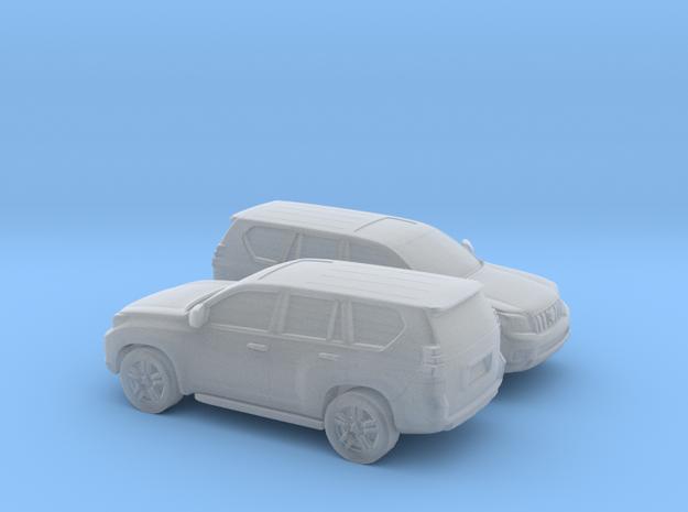 1/148 2008-Present 2X Toyota Land Cruiser in Smooth Fine Detail Plastic