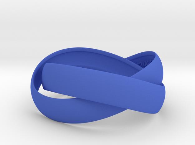 Double Swing Bracelet 15 X 60 in Blue Strong & Flexible Polished