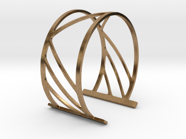 Subgeometric 2_Medium in Natural Brass