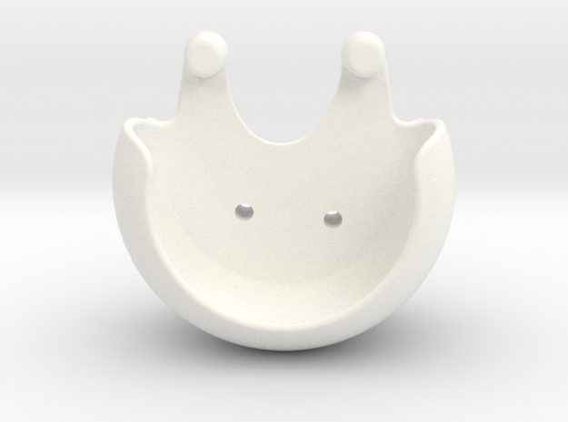 PropGuards Clip Phantom 2 / 3 / Vision+ in White Strong & Flexible Polished