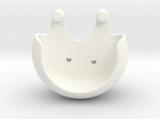 PropGuards Clip Phantom 2 / 3 / Vision+ in White Processed Versatile Plastic