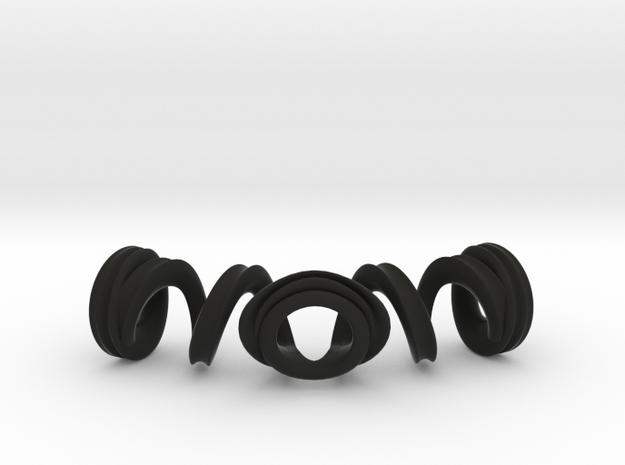 Spiral Bracelet 3d printed