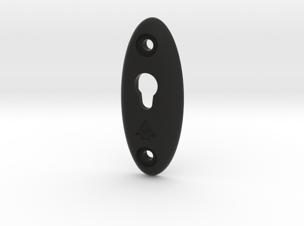 Speaker Hanger in Black Natural Versatile Plastic