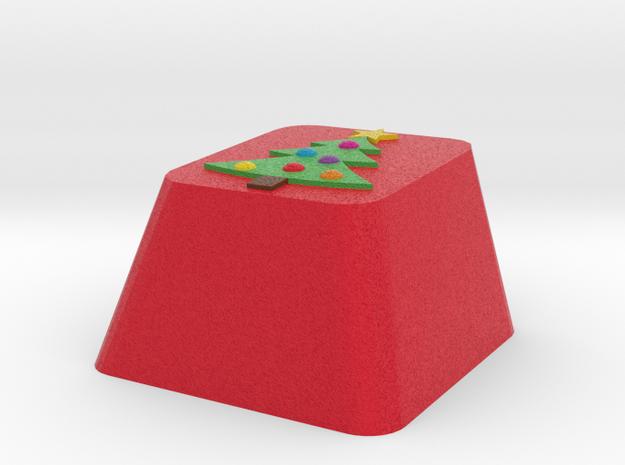 Christmas Tree Keycap Cherry Mx in Full Color Sandstone