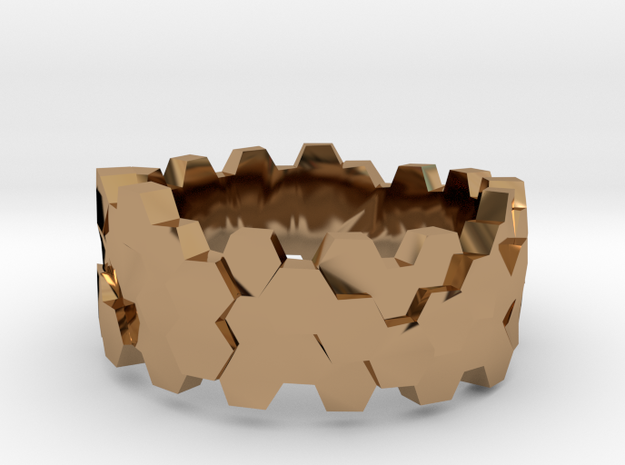 Hengsha ring: size 11 (US) W (UK) 3d printed