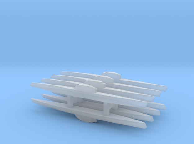 Type XXI Submarine x 8, 1/2400