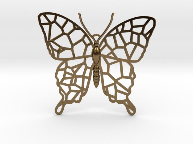 Butterfly Voroni Pendant