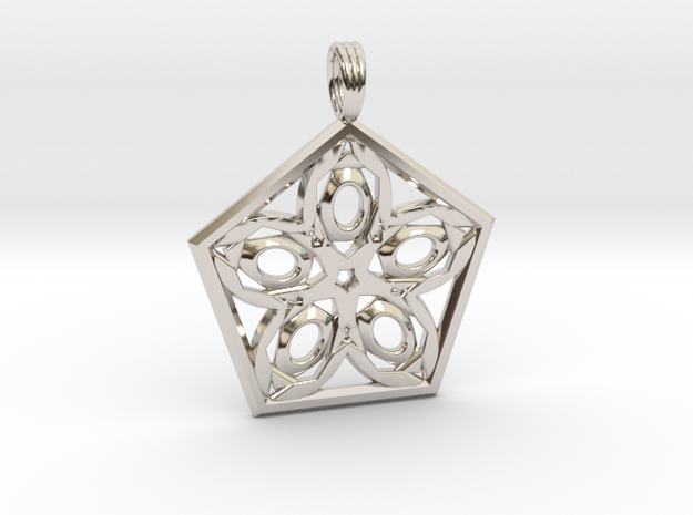 PALACE PARADISE in Rhodium Plated