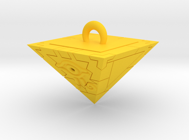 Proportional Millennium Puzzle - Yu-Gi-Oh! 3d printed