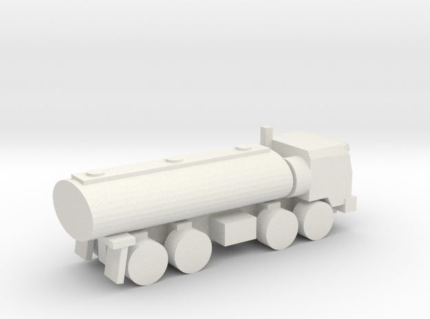 [5] Cargo-8 (Tanker) in White Natural Versatile Plastic