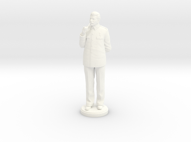 Joseph Stalin 180mm in White Processed Versatile Plastic