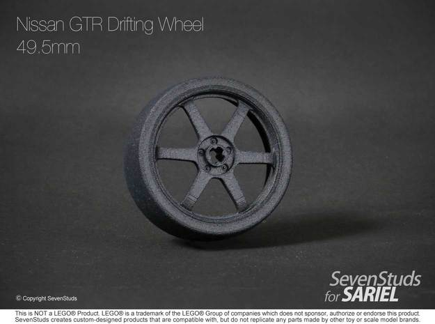 Drifting Wheel 49.5mm in Black Strong & Flexible