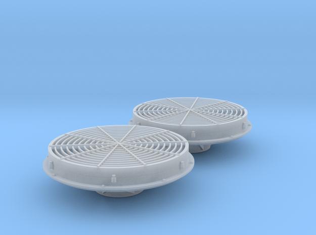 FN0005 DB Low Profile Fan 1/87.1 in Smoothest Fine Detail Plastic