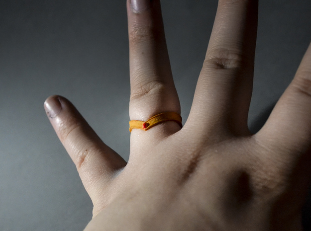 Sailor Moon Tiara Ring 3d printed