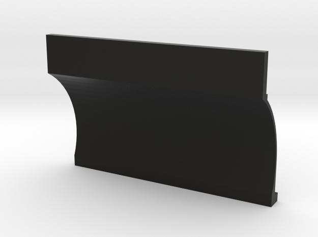 22R 1-10 motor Right Block half in Black Natural Versatile Plastic
