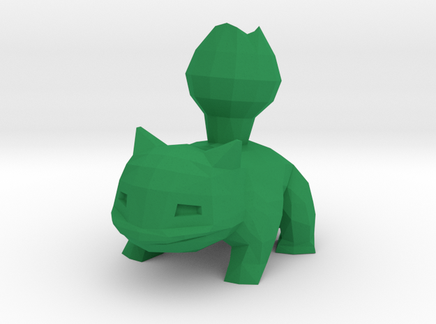 Ivysaur in Green Processed Versatile Plastic