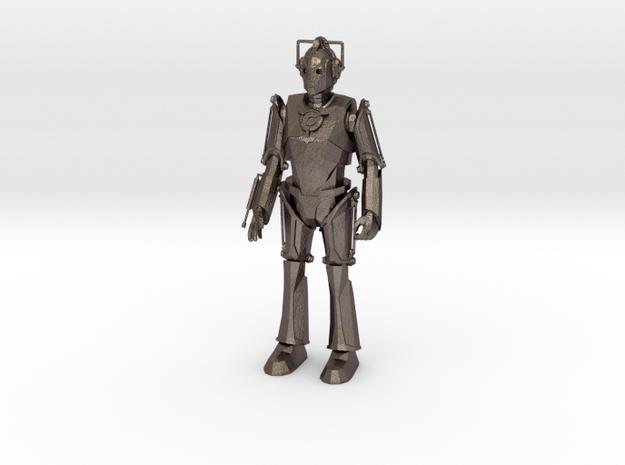 CybermanCL in Polished Bronzed Silver Steel