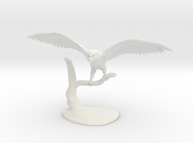 Owl Landing 3d printed