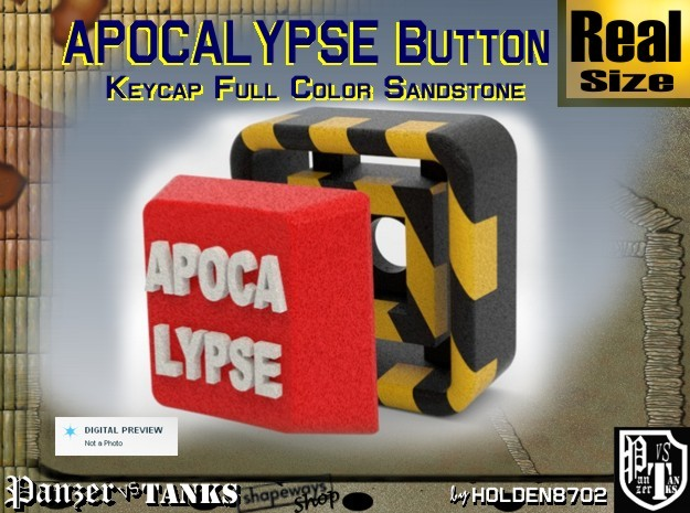 Full Color Button of APOCALYPSE