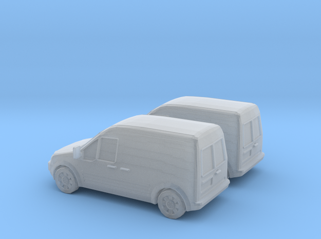 1/148 2X 2002-08 Ford Transit Connect/English in Smooth Fine Detail Plastic