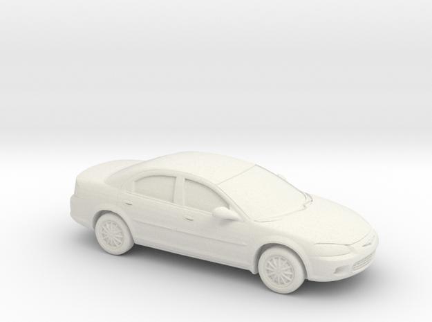 1/87 2000-03 Chrysler Sebring Sedan in White Strong & Flexible