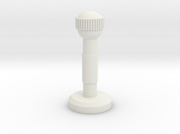 JK Stabilizer in White Natural Versatile Plastic