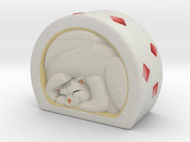 White roll cake in Full Color Sandstone
