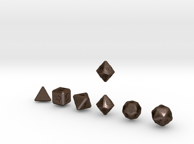 QUADRANT Bevel Outies dice 3d printed
