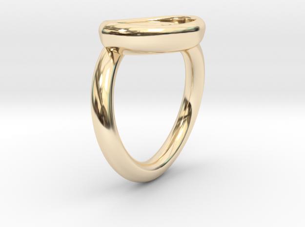 Heart Ring in 14K Gold