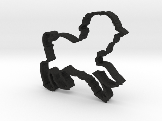 Large Lamb Cookie Cutter 3d printed