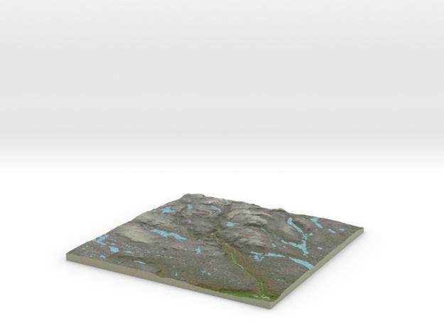 Terrafab generated model Fri Oct 23 2015 14:58:17  in Full Color Sandstone