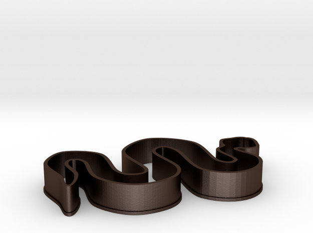 Snake Cookie Cutter 3d printed