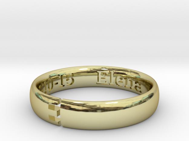 FEDE G - II in 18k Gold