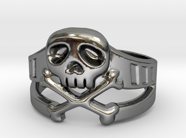 Space Captain Harlock | Ring size 10 in Premium Silver: 10 / 61.5