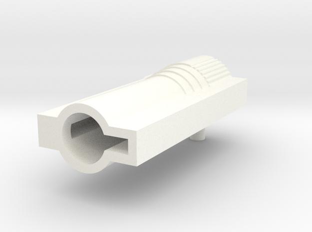 Transformers G2 european launcher. (NON firing) in White Processed Versatile Plastic