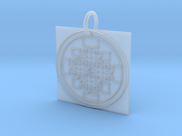 Creator Pendant in Smooth Fine Detail Plastic