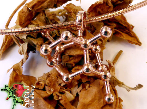 Patchoulol in 14k Rose Gold Plated Brass