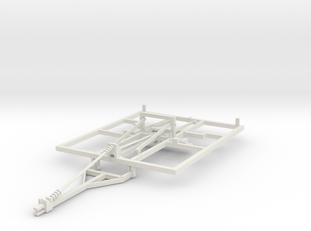 1/64 Weatherproofer disc ripper frame Part one of  in White Strong & Flexible