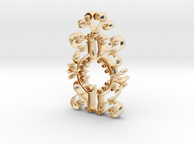 The Old Clock in 14K Yellow Gold