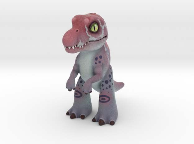 Spinosaurus in Full Color Sandstone