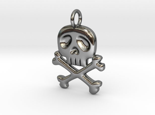 Space Captain Harlock | Pendant in Premium Silver