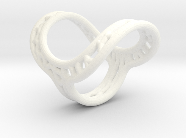 Finger splint/ Size12.5/ Inner Diameter 21.8mm/ To in White Processed Versatile Plastic