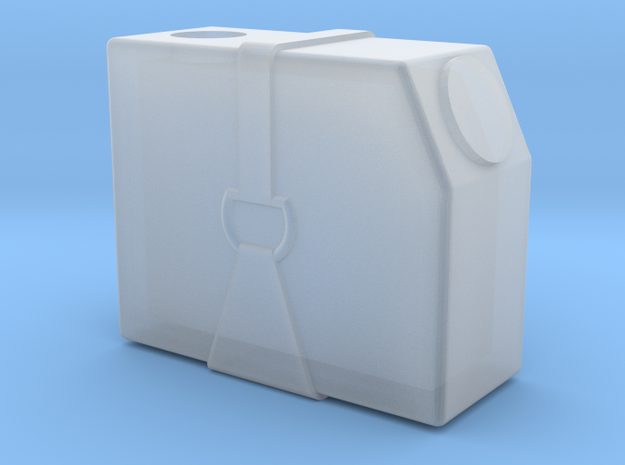 Tyrrell003 Fluid Tank, 1/20 scale in Smooth Fine Detail Plastic